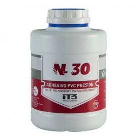 Colle N30 sans THF 250ml spécial PVC pression