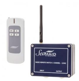 Boitier radio 1 canal + telecommande