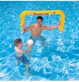 Water Polo gonflable livré avec un ballon