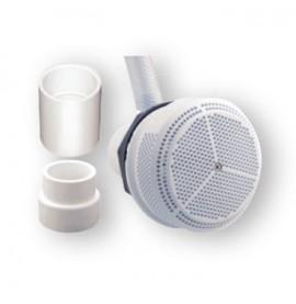 Buse aspiration béton ou coque 43 m3/h  sortie diam 63 mm à coller