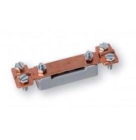 Barette de terre cuivre pour câble de diam. 4 à 10 mm