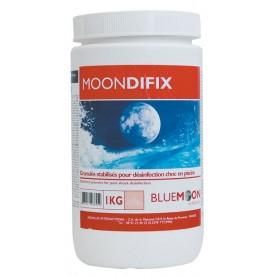 Chlore choc stabilisé 56% granulés boîte de 1 kg - BLUEMOON
