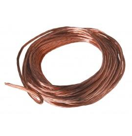 Electrolyse de sel câble cuivre