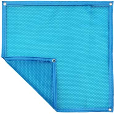 Couverture à bulles Bleue Bleue 500 μm