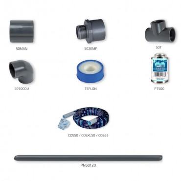 Kit de plomberie Packs Solutions avec tuyau CDS